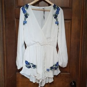 Lovers + Friends Adriana Romper, Size S - NWT